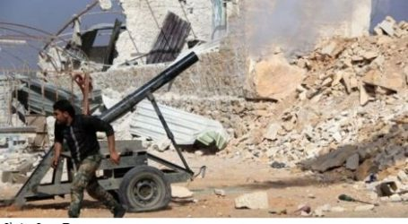 MILITANT MORTAR ATTACK KILLS OVER 20 IN SOUTHERN SYRIA