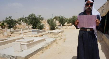 ZIONIST AUTHORITIES 'TRY TO EVICT DEAD PEOPLE' FROM ARAB VILLAGE