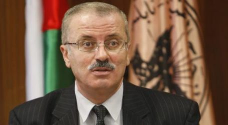 PALESTINE PM URGES GLOBAL PRESSURE ON ISRAEL OVER DETENTIONS