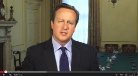BRITISH PM DAVID CAMERON SENDS RAMADAN GREETINGS TO MUSLIMS