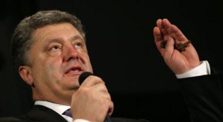 UKRAINE LEADER: FIGHTING MUST END THIS WEEK