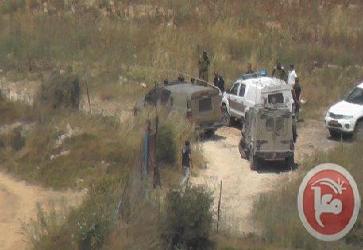 ISRAELI FORCES DETAIN DISABLED MAN NEAR HEBRON
