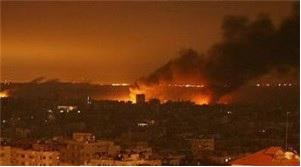ZIONIST STRIKES GAZA, ONE DIES