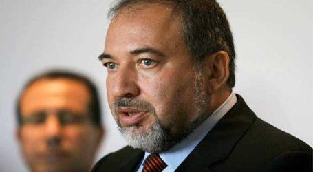 LIEBERMAN CRITICISES NETANYAHU'S EFFORT TO REACH CEASEFIRE WITH GAZA
