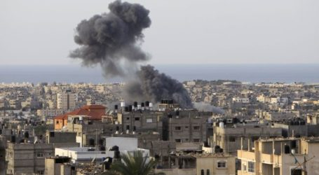 ZIONISTS LAUNCH AIRSTRIKES ON GAZA, WOUNDS DOZENS