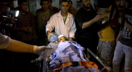 GAZANS PROTEST KILLING OF PALESTINIAN TEENAGER