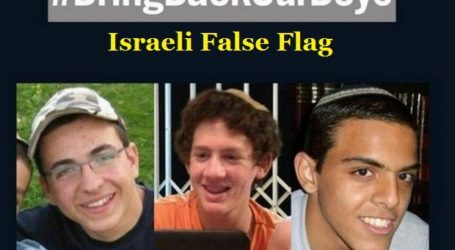 ISRAELI POLICE: HAMAS HAS NO LINK TO KIDNAPPING AND KILLING OF SETTLERS BOYS