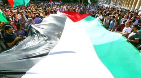 ITALIAN PROTESTERS CONDEMN ISRAELI AGGRESSION AGAINST GAZA
