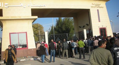 EGYPT OPENS RAFAH BORDER CROSSING AFTER UN REQUEST