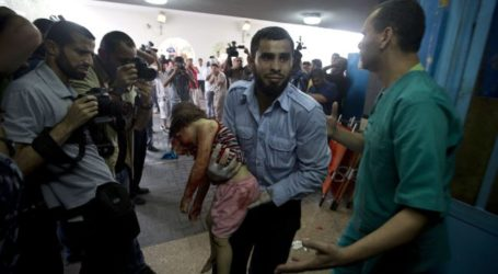 ZIONIST FORCES DESTROY UNRWA SCHOOL, 15 GAZANS KILLED