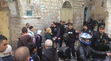 THREE JERUSALEMITE WOMEN ARRESTED AT AQSA MOSQUE