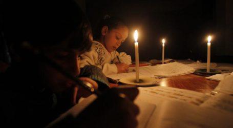 ZIONIST ISRAELI INVASSION CUT ELECTRICITY NETWORK IN GAZA