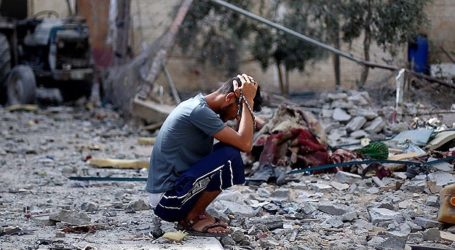 ISRAELI AIR STRIKE KILLS 18 IN SYRIA