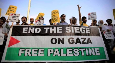 PAKISTAN OBSERVES DAY OF MOURNING FOR GAZA