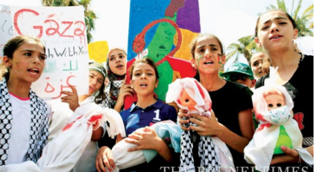 BRUNEIANS CALL TO SUPPORT PALESTINIANS