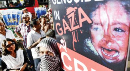 ISRAEL COMMITTING GENOCIDE IN GAZA: IRAN FM