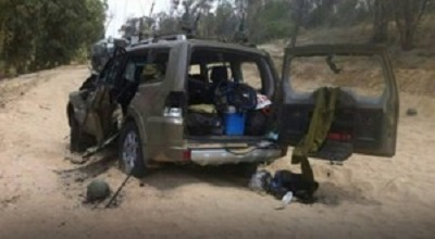 PALESTINIAN FIGHTERS KILL 11 ISRAELI SOLDIERS, DESTROY THREE JEEPS SEIZES  WEAPONS