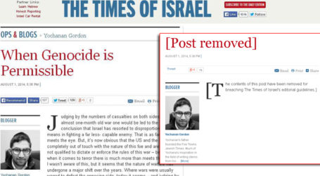 HERE IS 'GOD CHOSEN PEOPLE' ALL ABOUT: GENOCIDE PERMISSIBLE IN GAZA