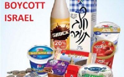 EU TO BOYCOTTS ISRAELI DAIRY PRODUCTS AS OF JANUARY