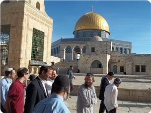 EXTREMIST ISRAELI SETTLERS STORM AL-AQSA MOSQUE