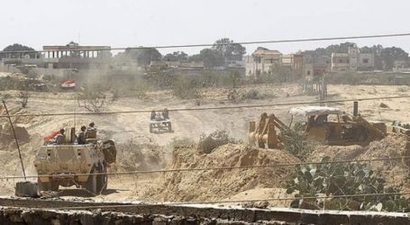 EGYPTIAN ARMY: A TOTAL OF 1,659 BORDER TUNNELS WERE RAZED IN GAZA