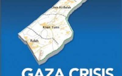 UN RELEASES MAP DISCRIBING ISRAELI ATTACK TARGETS ON GAZA
