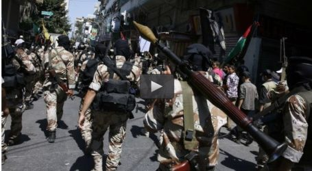 ISLAMIC JIHAD HOLDS PARADE, RALLY IN GAZA