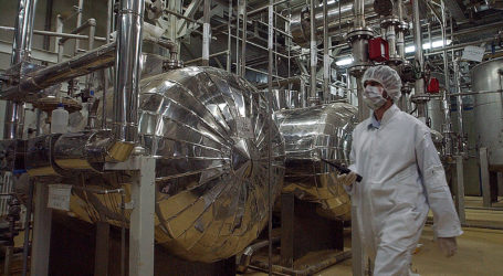IRAN OPENS NUCLEAR FUEL PLANT