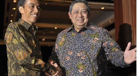 INDONESIAN PRESIDENT SBY WANTS CONTINUOUS TRANSITION