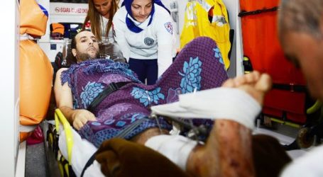EGYPT REFUSES TO LET GAZA'S WOUNDED TRAVEL, TURKISH PLANE USES TEL AVIV AIRPORT