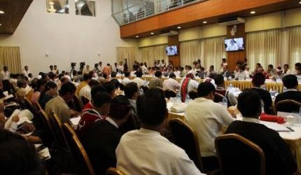 MYANMAR OPPOSITION CALLS FOR END TO MILITARY GRIP ON CONSTITUTION