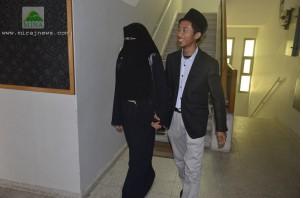 INDONESIAN VOLUNTEER MARRIES GAZAN WOMAN AMID CEASEFIRE