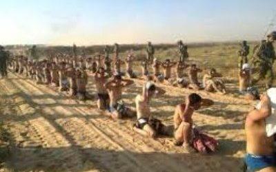 ZIONIST REGIME FORCES USE PALESTINIAN CIVILIANS AS HUMAN SHIELDS