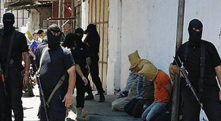 18 PEOPLE EXECUTED IN GAZA FOR SPYING FOR ISRAEL
