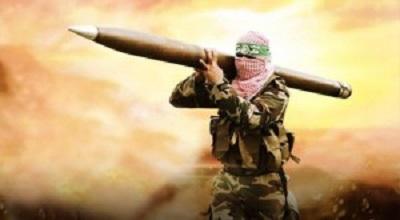 AL-QASSAM ATTACKS ISRAELI OIL MINE IN OFFSHORE OF GAZA