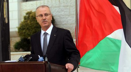 PALESTINIAN PM: WE HAVE BEEN THREATENED OVER PAYING GAZA SALARIES