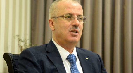 PALESTINIAN PM URGES INTERNATIONAL PRESSURE ON ISRAEL