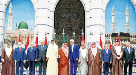 ARAB STATES RALLY BEHIND USA IN FIGHTING IS EXTREMISTS