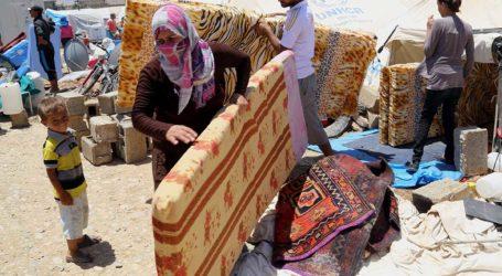 SYRIAN REFUGEES IN ALGERIA RETURN HOME