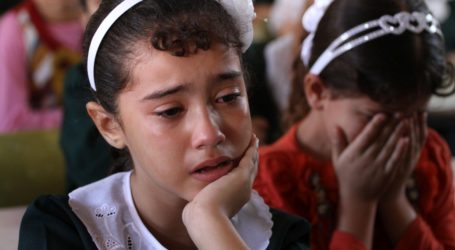 9,600 GAZA STUDENTS NOT ATTEND SCHOOL AT START ACADEMIC YEAR