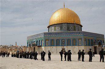 ISRAEL IMPOSES RESTRICTIONS AROUND AQSA COMPOUND
