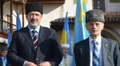 CRIMEAN TATAR LEADERS TO RUN FOR UKRAINIAN PARLIAMENT