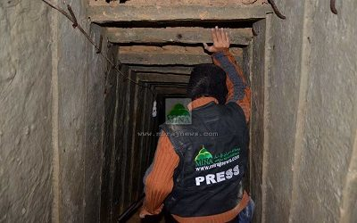 SPECIAL COVERAGE: TRACING TUNNELS IN GAZA
