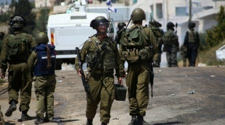 ISRAELI MILITARY ARRESTS SEVEN PALESTINIAN CITIZENS IN OCCUPIED WB