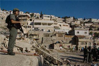 SETTLERS 'OCCUPY 23 HOMES' IN EAST JERUSALEM NEIGHBORHOOD