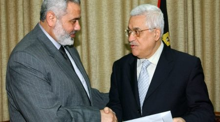 HANIYEH WELCOMES UNITY CABINET MEETING IN GAZA