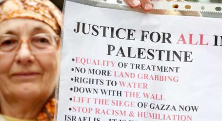 HOLDING ISRAEL ACCOUNTABLE IS A PRE-REQUISITE FOR ACHIEVING PEACE