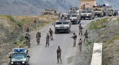 TALIBAN FIGHTERS FIRE ROCKETS IN AFGHANISTAN CAPTIAL