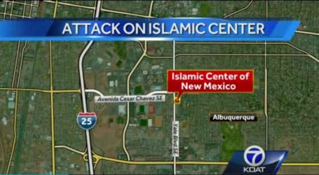 MOLOTOV COCKTAIL THROWN AT MOSQUE IN NEW MEXICO