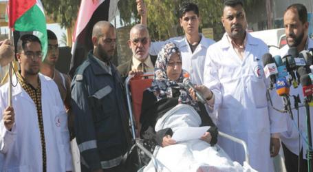 GAZA DOCTORS DEMAND CAIRO REOPEN RAFAH CROSSING